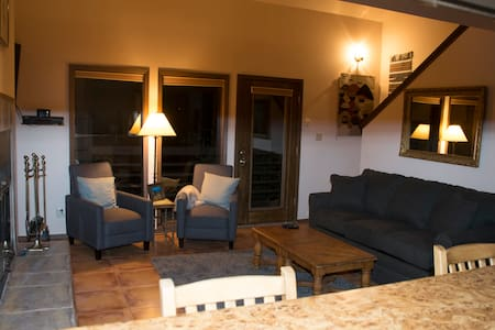 Ski-in/Ski-out condo perched on mountain, sleeps 5 - Angel Fire