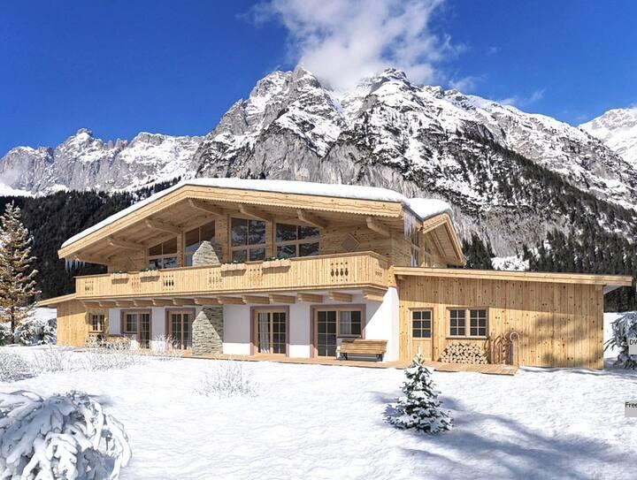Alpenchalet im Leutaschtal *****