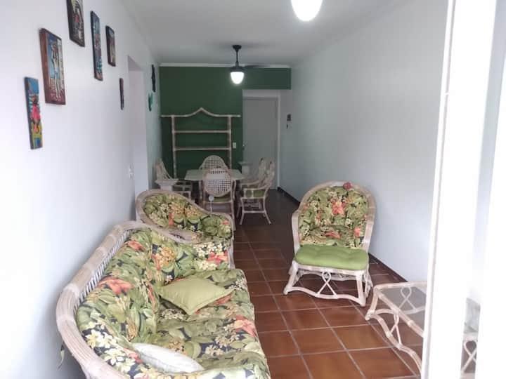 Apartamento super aconchegante na Enseada, Guarujá