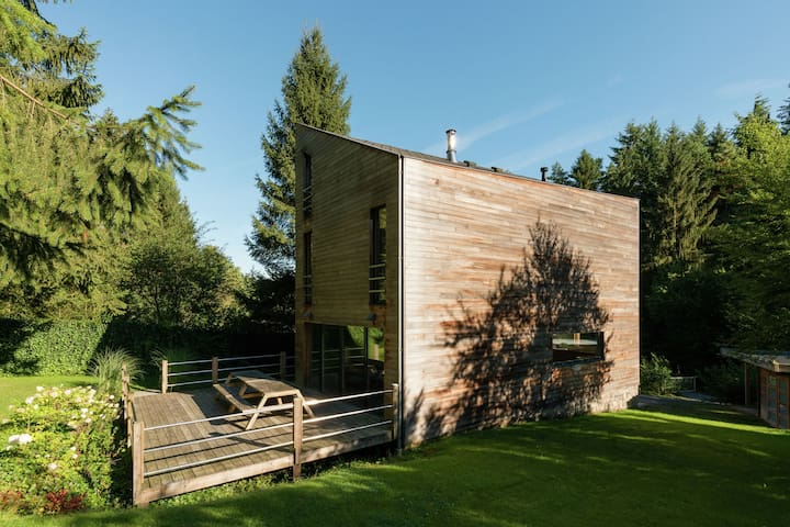 Pretty Chalet in Durbuy Belgium with Kids Play Area
