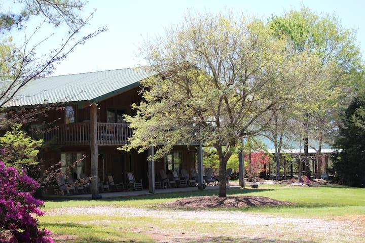 Rustic Hunting Lodge