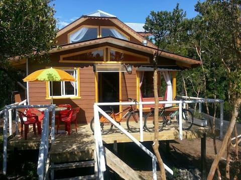 Cabins in Lenca, Carretera Austral