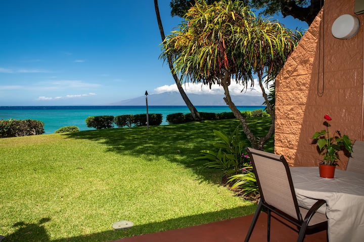 KUL602 - Oceanfront Vacation Rental in West Maui—Great Value & Views—1BR/1BA