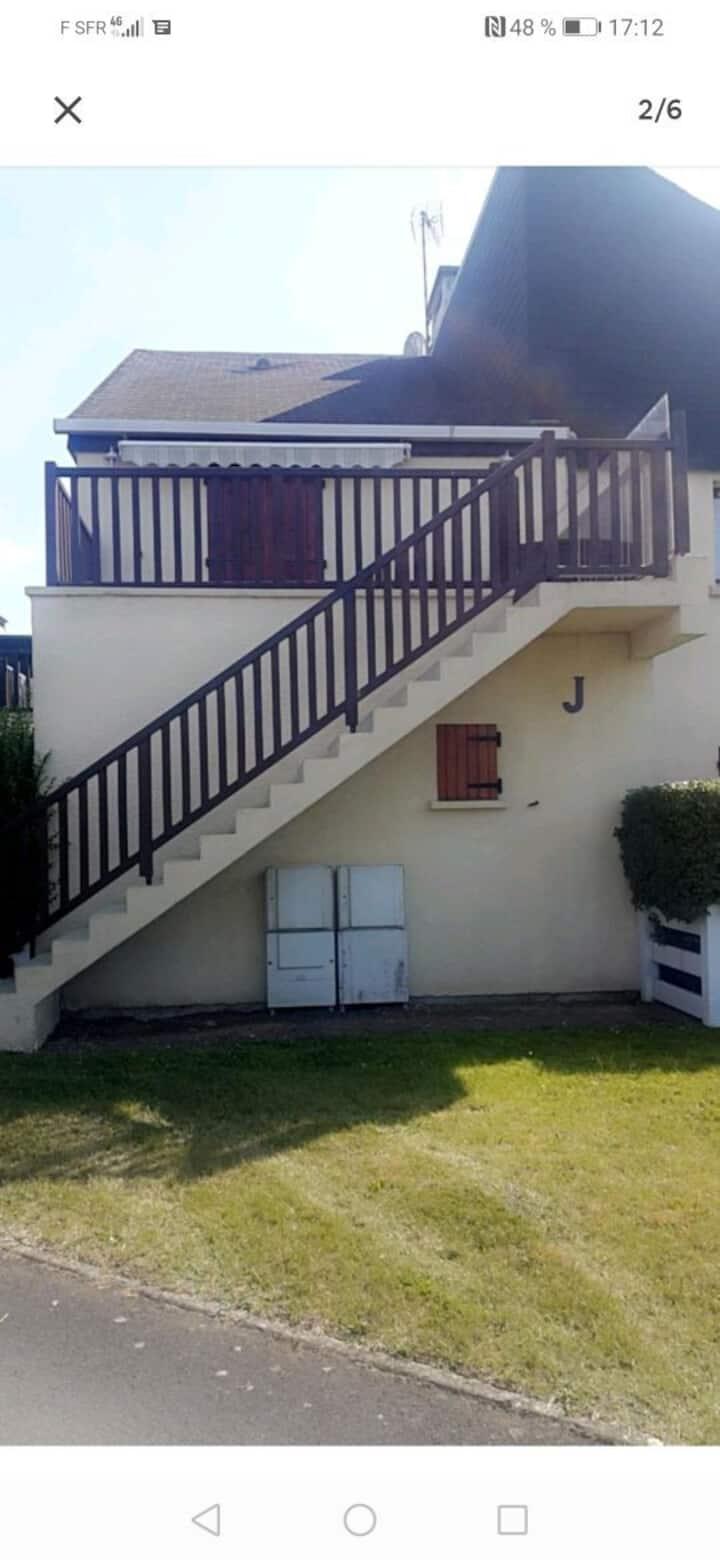 Magnifique appartement de 26 m2 à 5 min de Cabourg