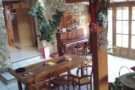 Maison en pierres de type provençal - Rochefort-en-Valdaine