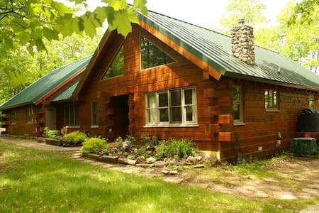 Spacious Cabin on Spider Lake in Iron River, WI - Iron River - Sommerhus/hytte