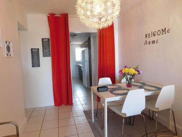 Miami condo, near beaches, free parking & Wifi - North Miami Beach - Apartamento