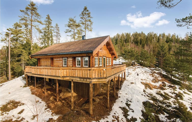 Holiday cottage with 2 bedrooms on 73m² in Hynnekleiv