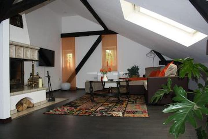 Enjoy your holidays in our old but lovely coach house