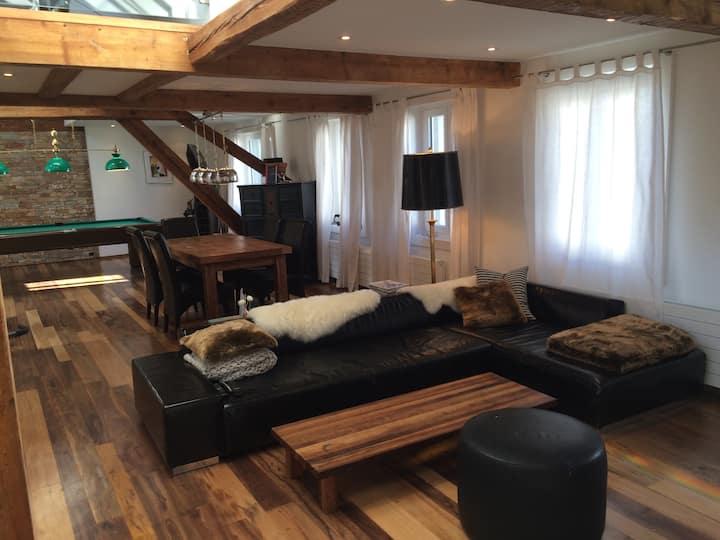 Luxuriöse Attika Loft in Zürich