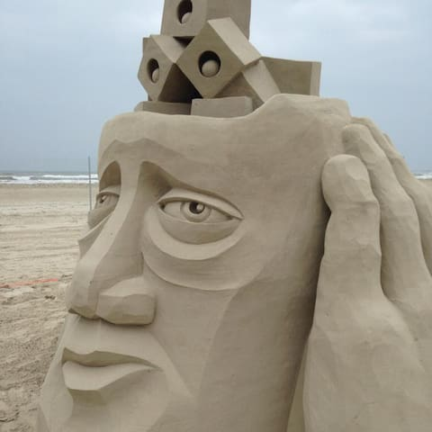 Texas Sand Fest in Port Aransas