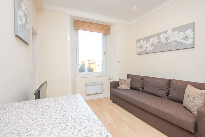 Central bright self contained apartment - Edinburgh - Byt