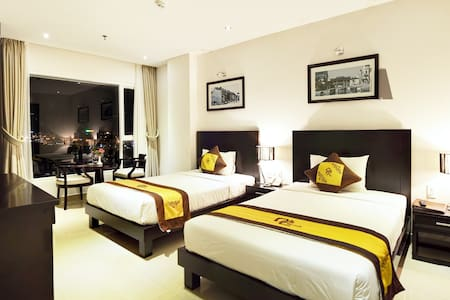 Clean room with city view - Da Nang