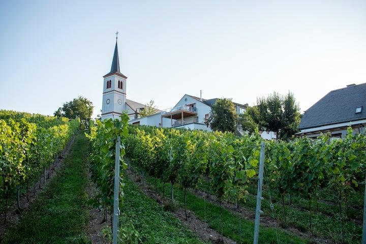 Ferienwohnung Weingut Johanneshof - Moselblick