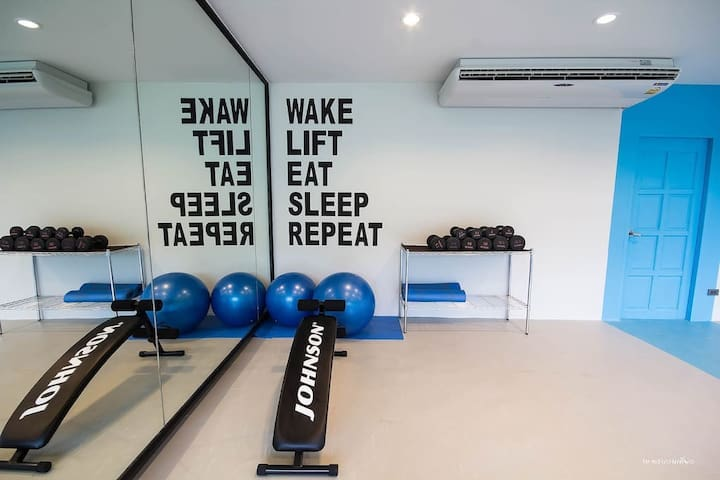 Compact Gym open 07.00 - 19.00 hrs.