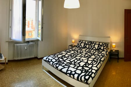 Cozy stay in Modena (1 double+1 single beds)