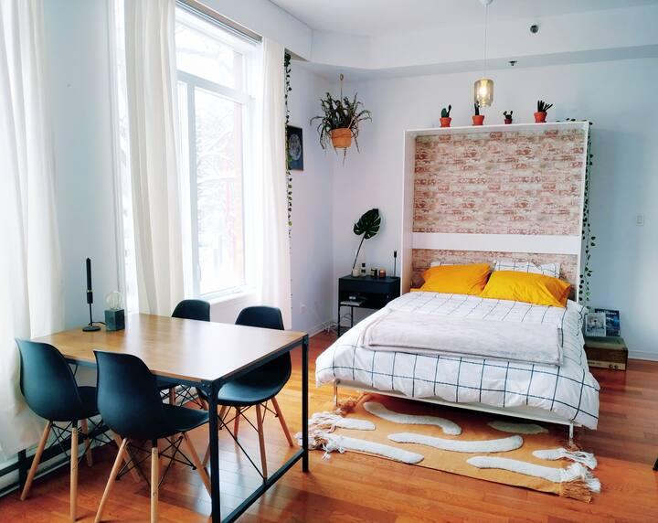 Bright and cosy small loft/studio