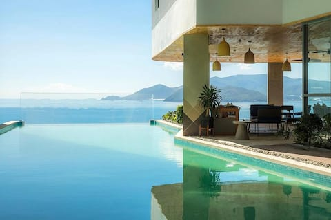 PANORAMA ✧ SEA & CITY VIEW ✧ FREE POOL GYM ✧