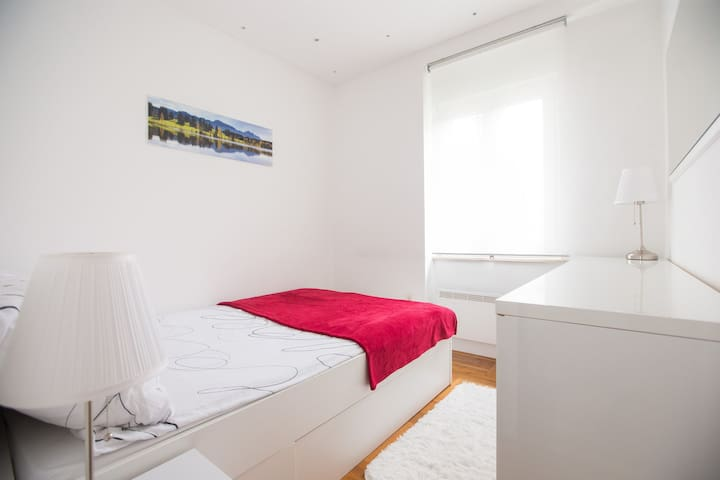 1. Room with double bed