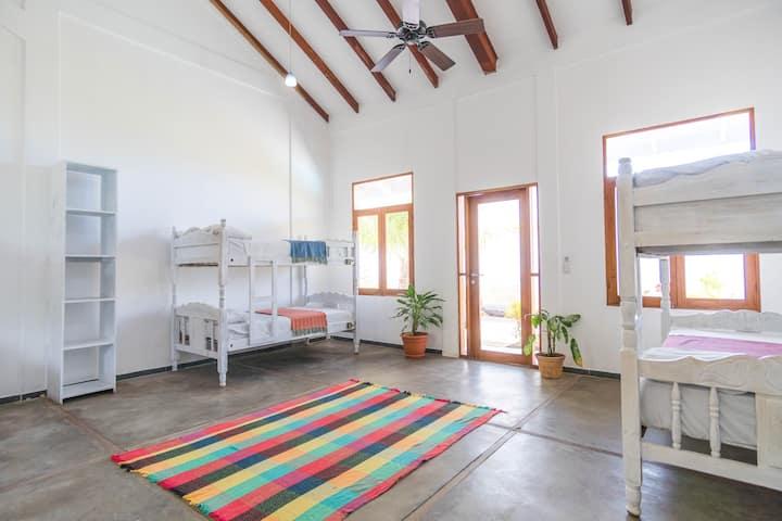 Rapture Surfcamps Nicaragua  - Deluxe 8 Bed Dorm