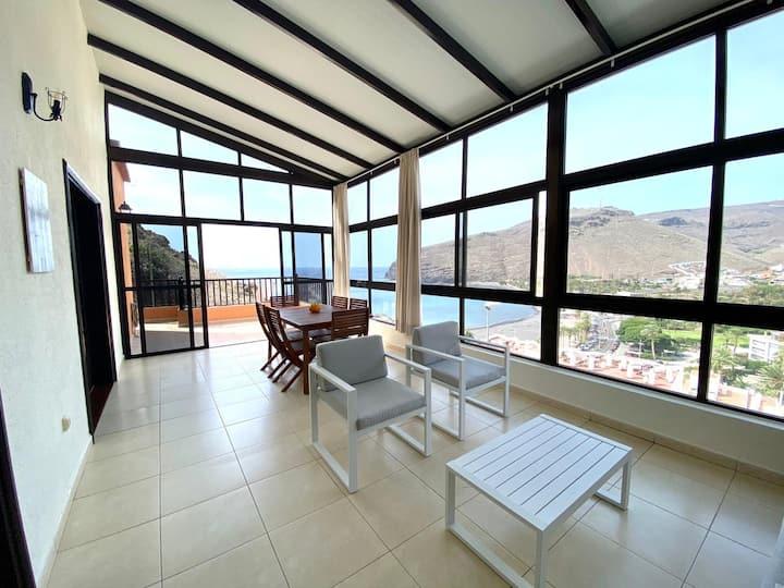 Estupenda villa El Mirador en La Gomera