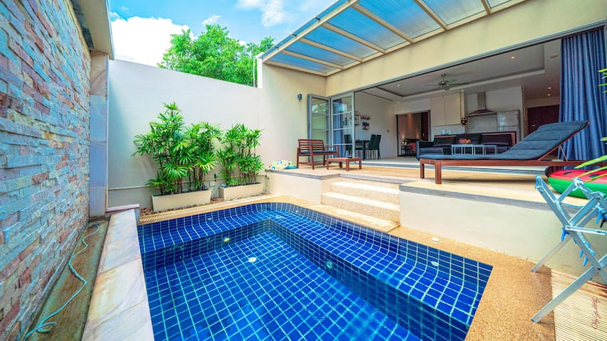 1 Bed Room Villa in Bangtao with private pool