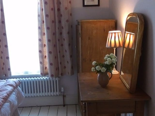 Really pretty single room - lovely Victorian house - Derbyshire - Σπίτι