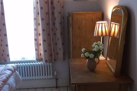 Really pretty single room - lovely Victorian house - Derbyshire - 独立屋