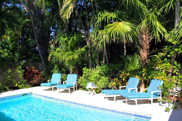 Relax and soak in the sun by your private pool