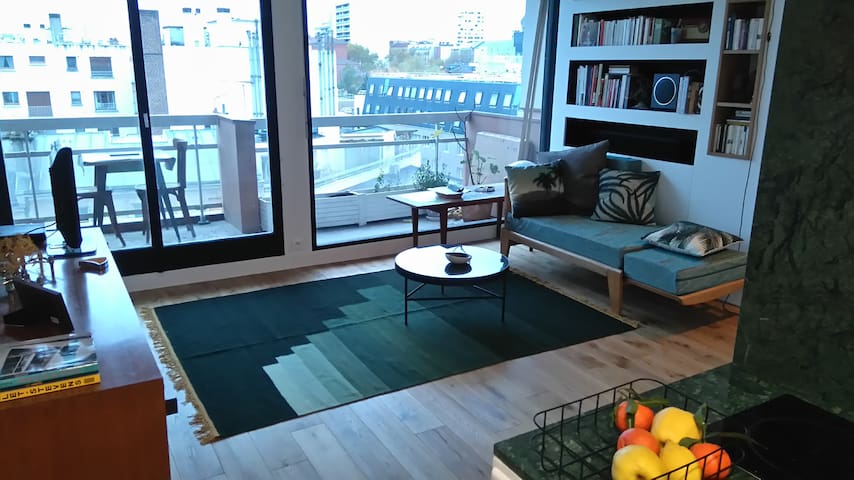 Beau studio avec terrasse et vue dé - Paris - Wohnung
