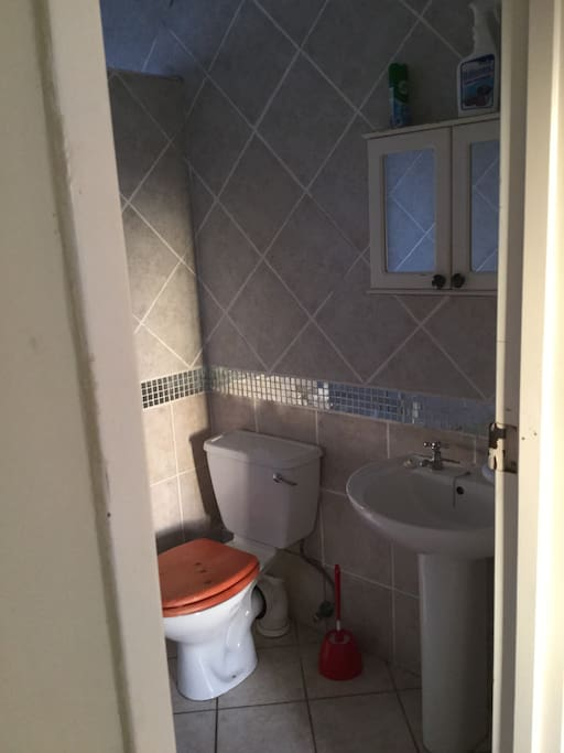 Shower n toilet