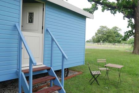 'Flowers' Shepherd Hut accommodation