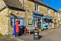 Uley Village stores, 2 minutes walk up the road