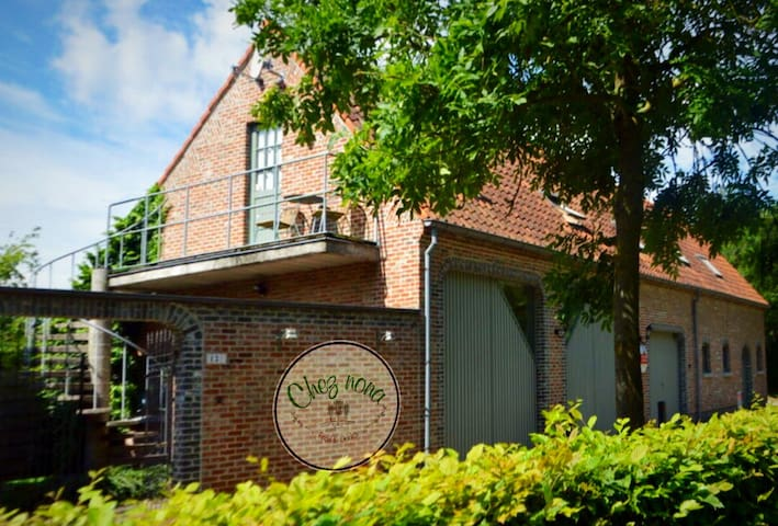 Chez nona Wintam vakantiewoning loft natuur ruste - Bornem - Apartemen