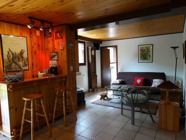 Studio au rez de chaussée de notre maison - Ugine - Bed & Breakfast