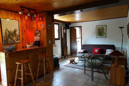 Studio au rez de chaussée de notre maison - Ugine