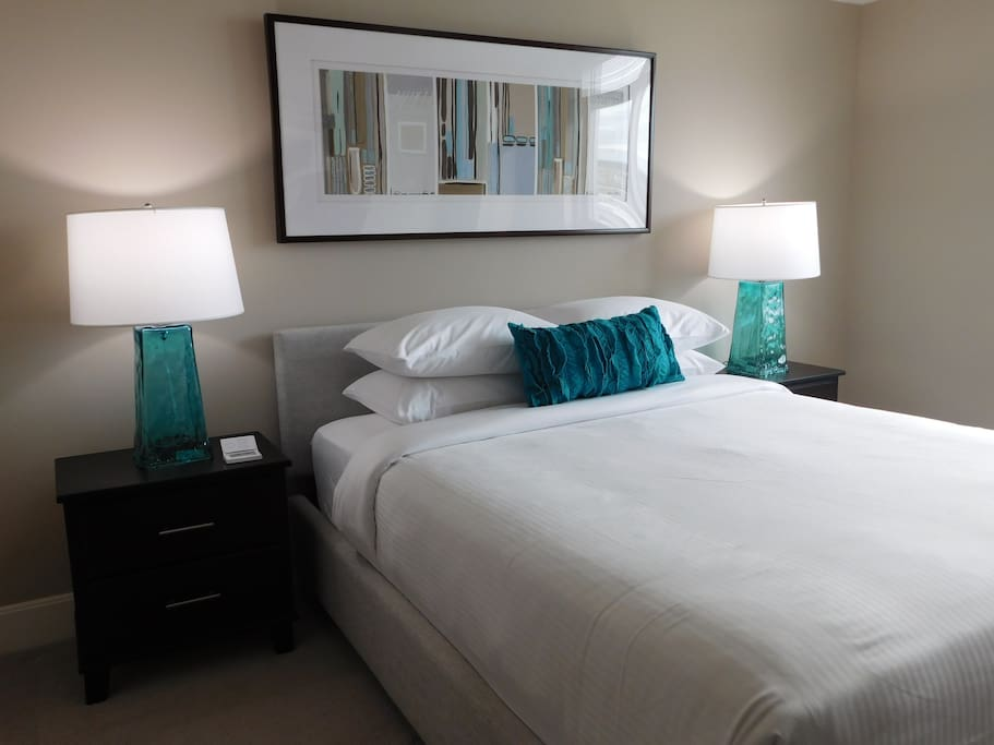 A bed is the most important part of a home, and we think we do it justice by sourcing handmade mattresses from Virginia and linens worthy of a 5 star hotel.