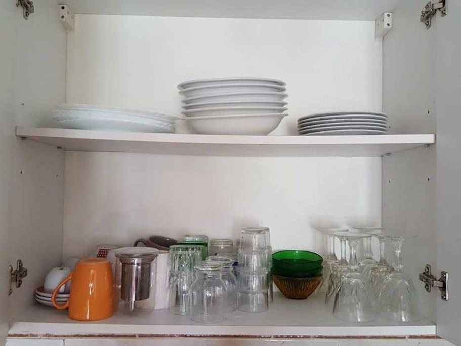 vaisselle disponible