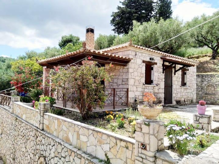 """Vozas Villa """"Aphrodite"""" Stonehouse with great view"""