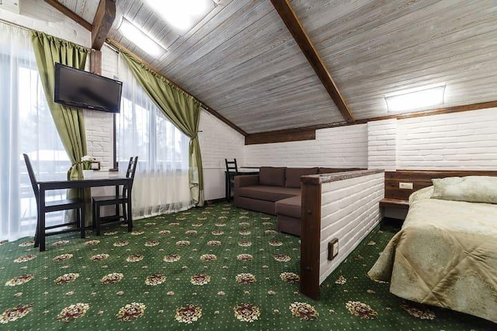 Гостевой дом Ель ***в 7 минутах от аэропорта*** 2 - Ufimskiy rayon - Pension