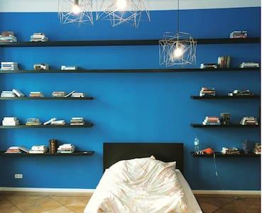 Kreuzberg Library-Style Bedroom - Berlin