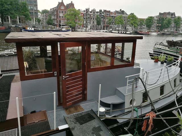 Our floting dream on the amstel