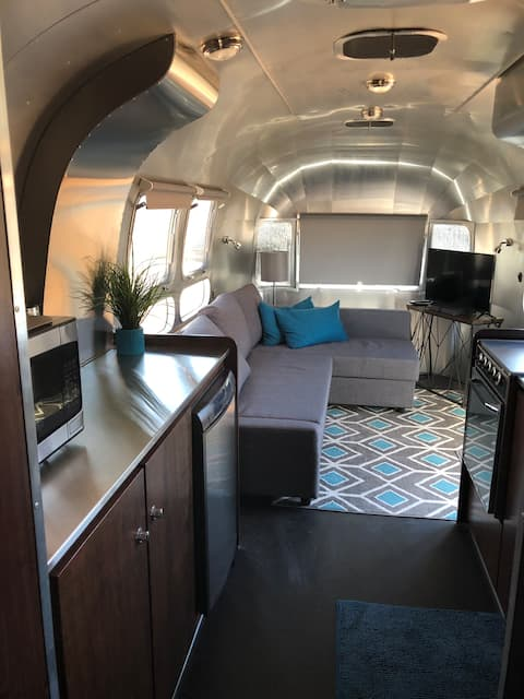 Airstream River Front Hideaway