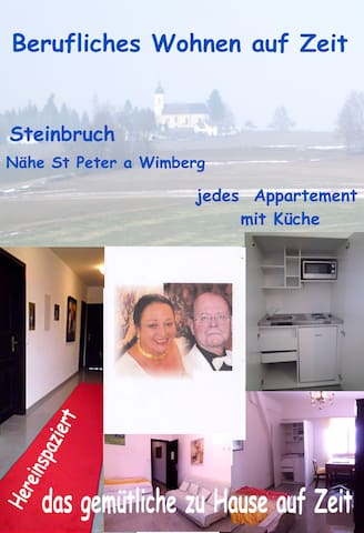 Appartement 2 Depandance Nähe St. Peter am Wimberg