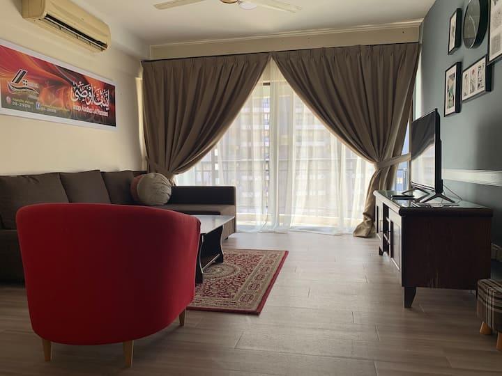 Inap Audha @Famosa Resort