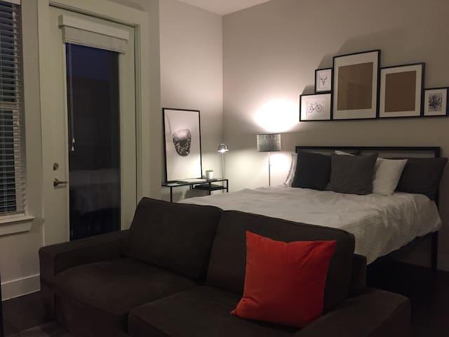 Luxury Private Studio in Oaklawn - Dallas - Byt