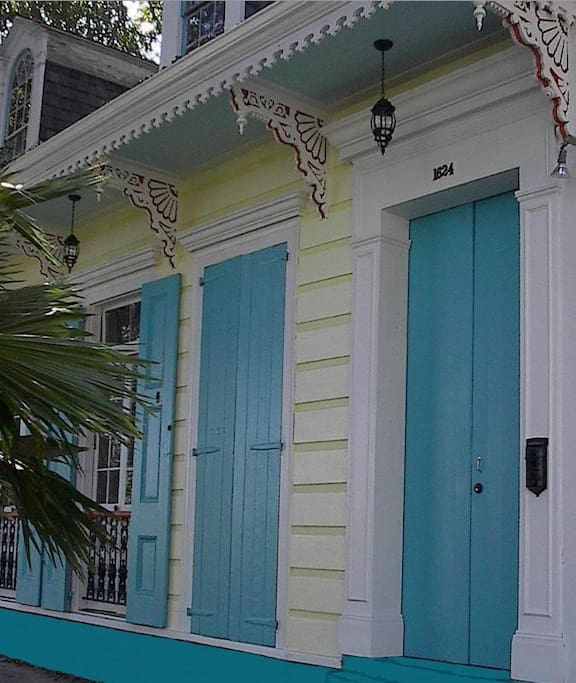 The Chalon House is a beautifully restored 1830's Creole Cottage which is listed on the National Register of Historic Landmarks