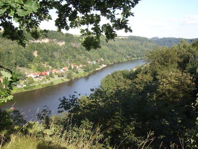 Ferienwohnung am Tor zur Sächsischen Schweiz - Struppen - Apartment