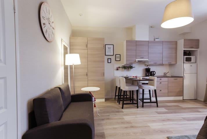 Hamina Bastion Apartments (studio with sauna)