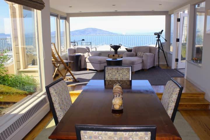 Ocean View Terrace North Beach Penthouse